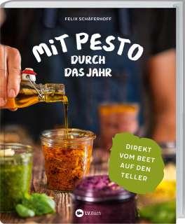 Mit Pesto durch das Jahr Cover