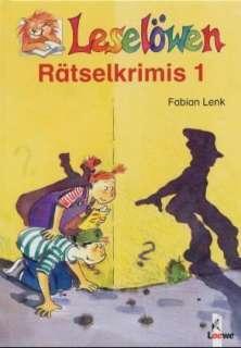 Leselöwen-Rätselkrimis Cover