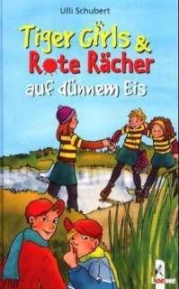 Tiger Girls & Rote Rächer auf dünnem Eis Cover