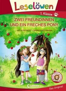 Zwei Freundinnen und ein freches Pony Cover