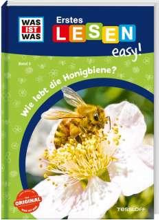 Wie lebt die Honigbiene? Cover