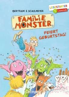 Familie Monster feiert Geburtstag! Cover