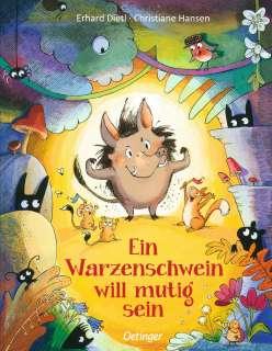 Ein Warzenschwein will mutig sein Cover