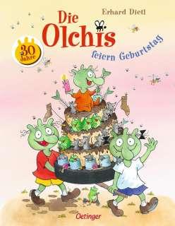 Die Olchis feiern Geburtstag Cover