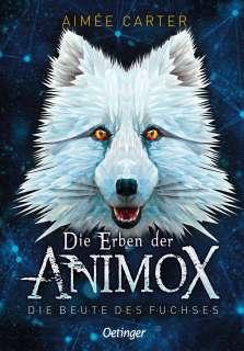Erben der Animox 1 - Die Beute des Fuchses Cover