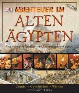 Abenteuer im  Alten Ägypten (Comic) Cover