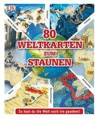 80 Weltkarten zum Staunen Cover