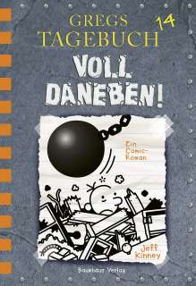 Gregs Tagebuch 14 - Voll daneben! Cover