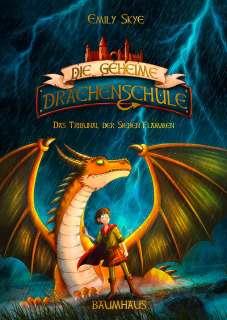 Die geheime Drachenschule 5 - Das Tribunal der Sieben Flammen Cover