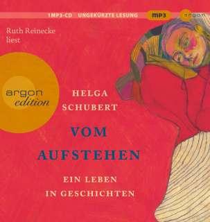 Ruth Reinecke liest Helga Schubert, Vom Aufstehen Cover