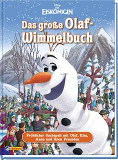 Das grosse Olaf-Wimmelbuch Cover