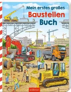 Mein erstes großes Baustellen-Buch Cover
