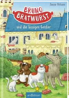 Bruno Bratwurst und die bissigen Geister  Cover
