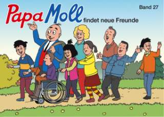 Papa Moll findet neue Freunde Cover