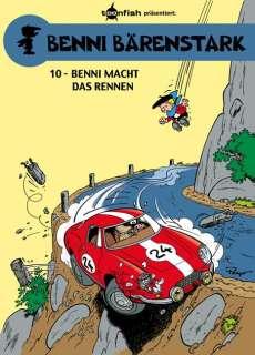 Benni macht das Rennen Cover