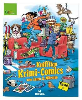Knifflige Krimi-Comics zum Lesen und Mitraten Cover