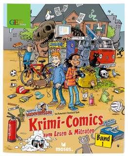 Krimi-Comics zum Lesen & Mitraten Cover