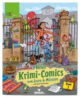 Neue Krimi-Comics zum Lesen & Mitraten Cover