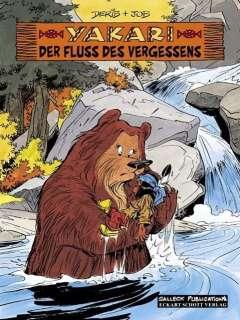 Der Fluss des Vergessens (Comic) Cover
