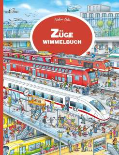 Züge Wimmelbuch Cover