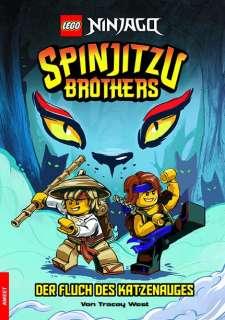 Spinjitzu Brothers- Der Fluch des Katzenauges Cover