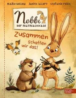 Nobbi, der Mutmachhase (Band 2) Cover