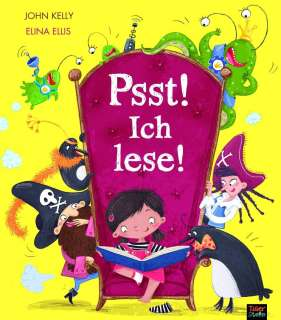 Psst! Ich lese! Cover