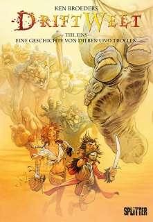 Eine Geschichte von Dieben und Trollen (Comic) Cover