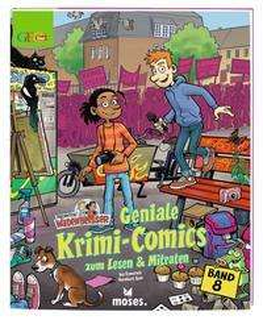 Geniale Krimi-Comics zum Lesen & Mitraten Cover