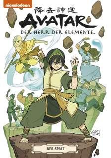 Avatar – Herr der Elemente Softcover Sammelband 3 Cover