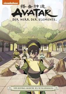 Avatar – Der Herr der Elemente 21 Cover