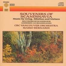 Souvenirs Of Scandinavia, CD