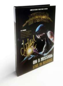 Michael Schenker: On A Mission - Live In Madrid (Limited Deluxe Edition) (signiert, exklusiv für jpc), 2 CDs