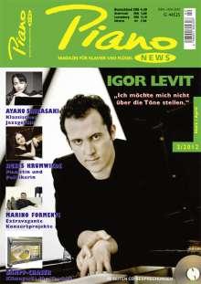 Zeitschriften: PIANONews - Magazin für Klavier & Flügel (Heft 2/2012), Buch
