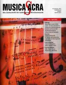 Zeitschriften: Musica Sacra - Zeitschrift für kath. Kirchenmusik 02/2012, Buch