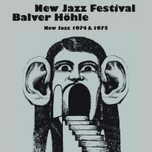 New Jazz Festival Balver Höhle - New Jazz 1974 & 1975, 11 CDs