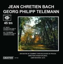 Johann Christian Bach (1735-1782): Konzert für Viola & Streichorchester, LP