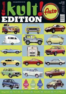 """Zeitschriften: kult! EDITION NR.1 """"AUTO"""", Zeitschrift"""