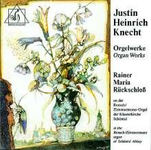 Justin Heinrich Knecht (1752-1817): Orgelwerke, CD