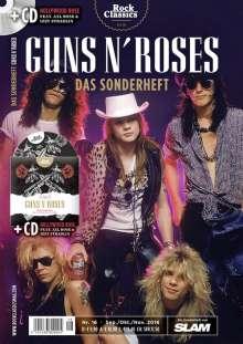 Zeitschriften: ROCK CLASSICS - Sonderheft 16: GUNS 'N ROSES + CD, Buch