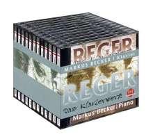 Max Reger (1873-1916): Das gesamte Klavierwerk, 12 CDs