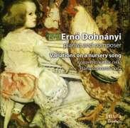 Ernst von Dohnanyi (1877-1960): Variationen über ein Kinderlied f. Klavier & Orchester op.25, SACD