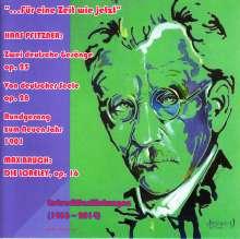Hans Pfitzner (1869-1949): Erstveröffentlichungen 1936-2014, 2 CDs