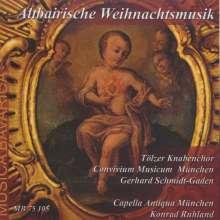 Altbairische Weihnachtsmusik, CD