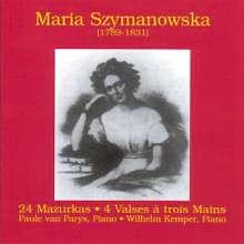 Maria Szymanowska-Wolowska (1779-1831): Mazurken Nr.1-24, CD