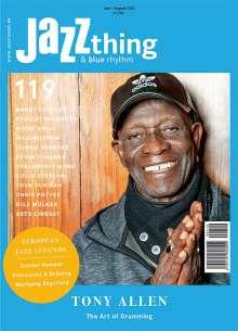 Zeitschriften: JAZZthing - Magazin für Jazz (119) Juni - August 2017, Zeitschrift
