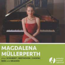 Magdalena Müllerperth plays Schubert / Beethoven / Chopin / Berg / Brahms, CD