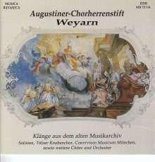 Musik aus dem Augustiner-Chorherrenstift Weyarn, CD