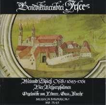 Meinrad Spiess (1683-1761): 4 Vesperpsalmen, CD