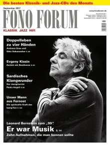 Zeitschriften: FonoForum September 2017, Zeitschrift